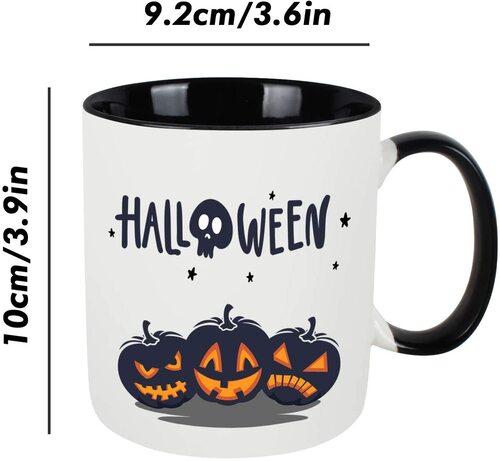 WHATCHA High Quality Ceramic Halloween Mug