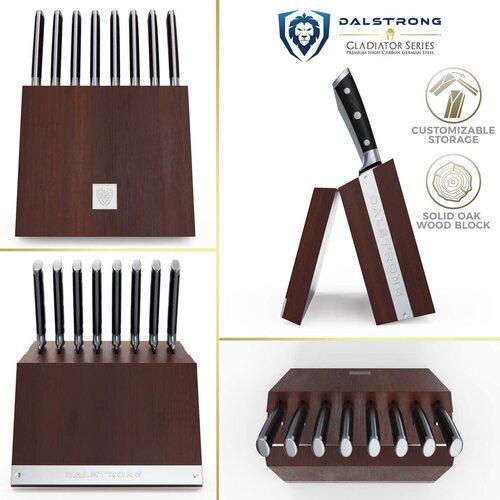 dalstrong gladiator series german high carbon steel knife set