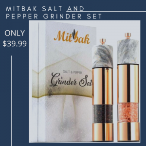 MITBAK Salt and Pepper Grinder Set
