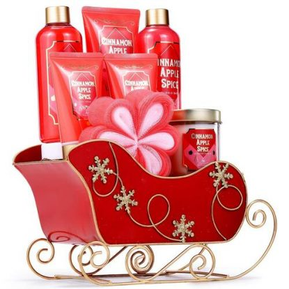 Body & Earth 8 pieces Bath Christmas Gift Set