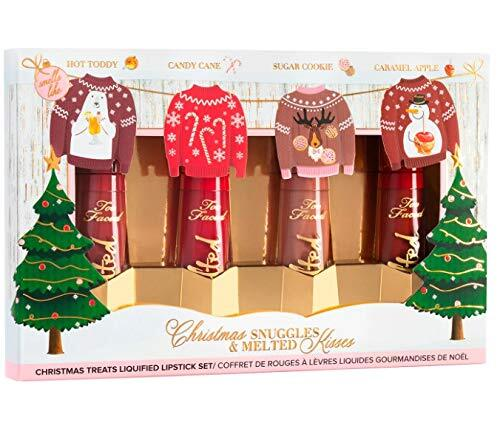 Too Faced 4 pieces Christmas Snuggles and Melted Kisses Unique Gift for Her