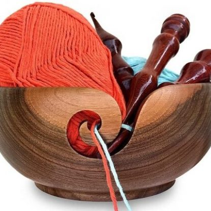 Wood Yarn Holder